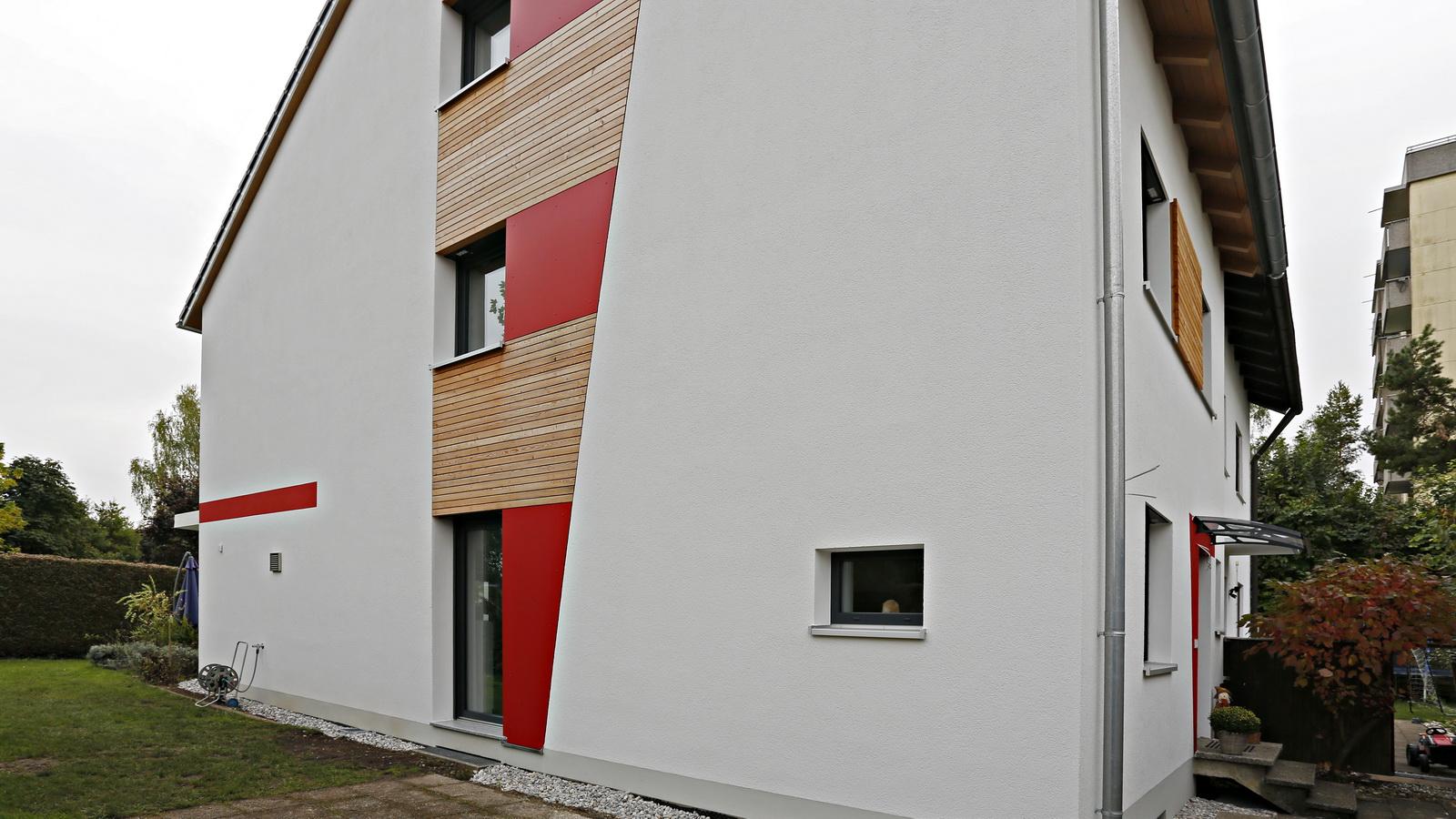 Fassade vom Brucker Musterhaus