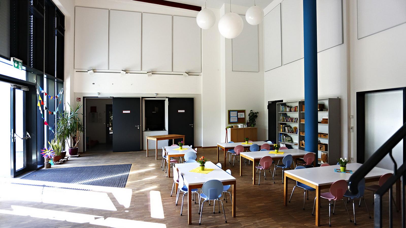 Gemeinschaftsraum vom Kindergarten Guenzlhofen