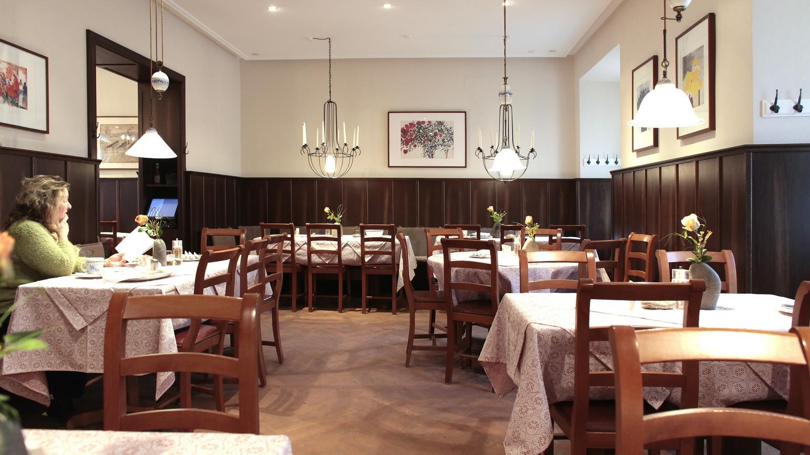 Der sanierte Gastraum vom Klosterstuebl