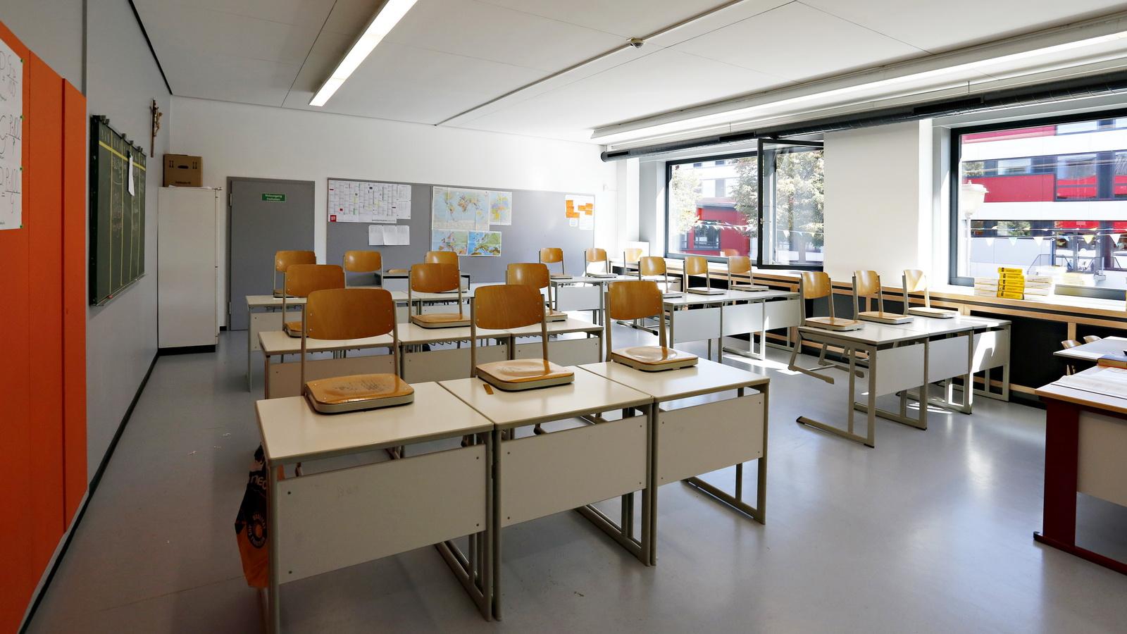 Blick ins Klassenzimmer der Schule Nord in FFB